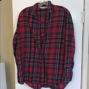 Old Navy Flannel The Boyfriend Shirt